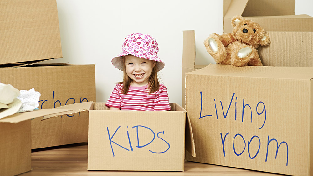 Keep an essentials box and label it